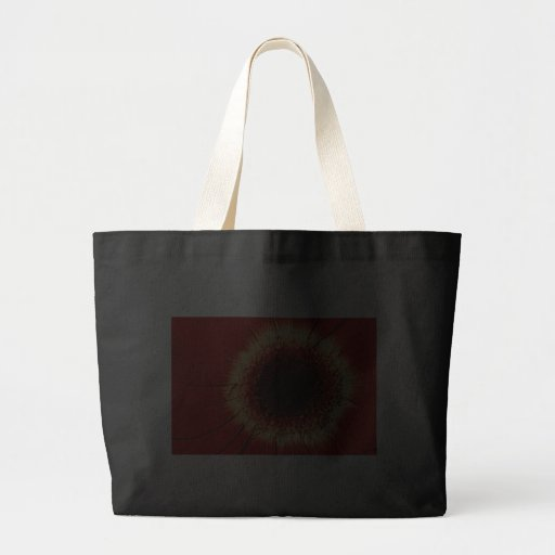 bolso rojo de la margarita del gerbera bolsa