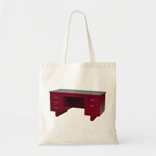 Bolso rojo del escritorio del vintage de Oxygentee Bolsas
