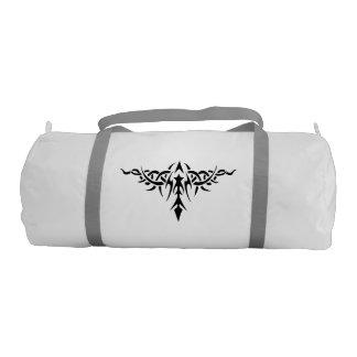 Bolso tribal del diseño del tatuaje bolsa de deporte
