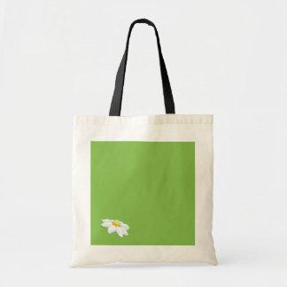 Bolso verde de la margarita bolsas