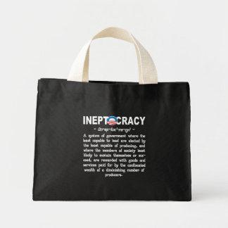 Bolsos de Ineptocracy Tote&Grocery de la Bolsa Tela Pequeña