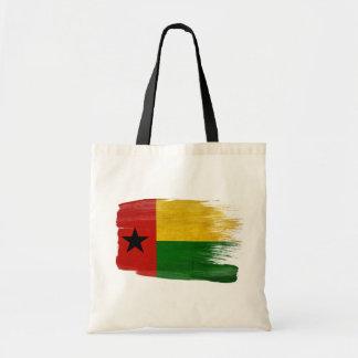 Bolsos de la lona de la bandera de Guinea-Bissau Bolsa