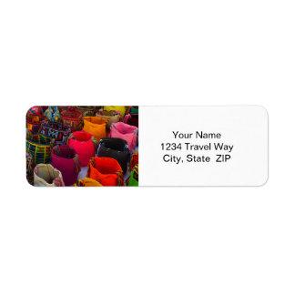 Bolsos de los mochilas de Wayuu para la venta en Etiqueta De Remite