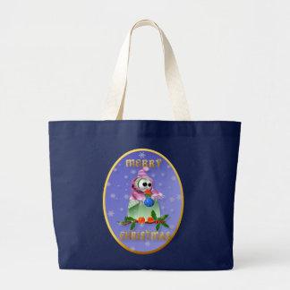 Bolsos del pájaro de la decoración del navidad bolsa de mano