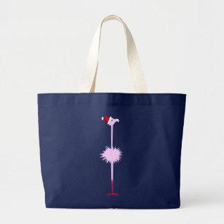 Bolsos rosados del flamenco 2 del navidad bolsas