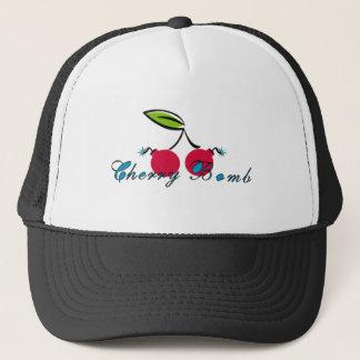Bomba de cereza gorra de camionero