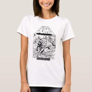 Bomba del Gama - los chicas del álbum del cerebro Camiseta