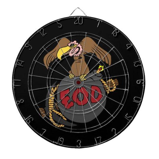 Bomba y selección del halcón tablero de dardos