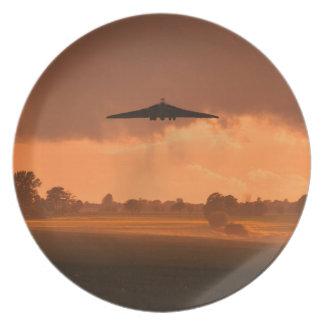 Bombardero brumoso de Vulcan Plato
