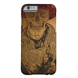 Bombero caliente del esqueleto de los huesos funda barely there iPhone 6