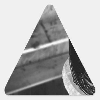 Bombero diario abstracto calcomanías trianguladas
