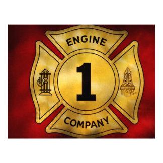 Bombero - Engine Company 1 Tarjeton