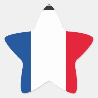 bombero Francia Pegatina En Forma De Estrella