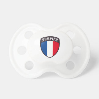 Bombero Francia Tetina Chupetes De Bebe