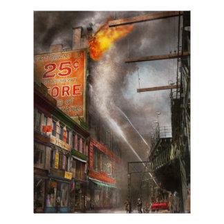 Bombero - Nueva York NY - muéstreme una muestra Folleto 21,6 X 28 Cm