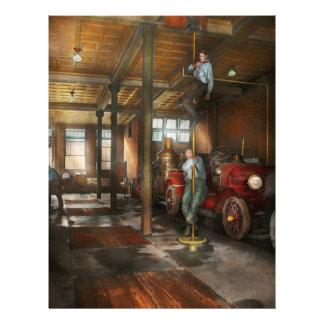 Bomberos - contestación del firebell 1922 folleto 21,6 x 28 cm