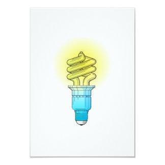 Bombilla fluorescente anuncio