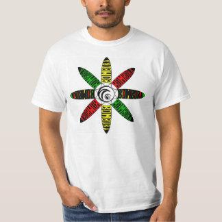 Bombora Rasta espiral Camiseta