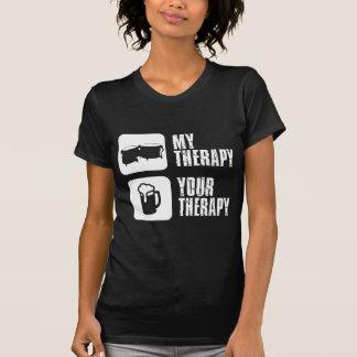bongos mi terapia camisetas