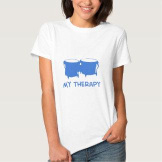 Bongos mis diseños de la terapia camisetas