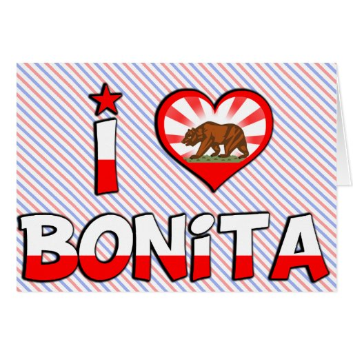 Bonita, CA Felicitaciones