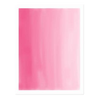 Bonito en postal rosada