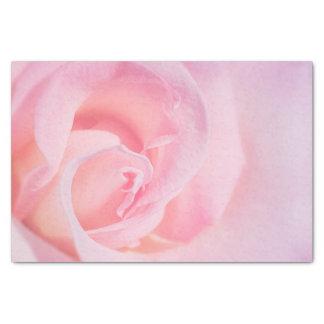 Bonito en rosa papel de seda