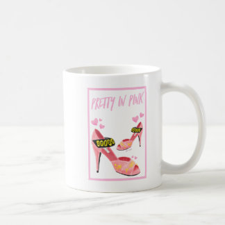 Bonito en taza rosada