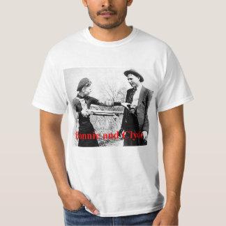 Bonnie y amantes cruzados estrella de Clyde o qué Camiseta