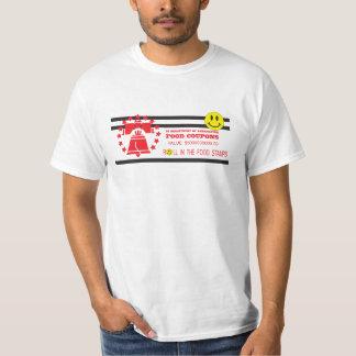 Bonos de racionamiento camiseta