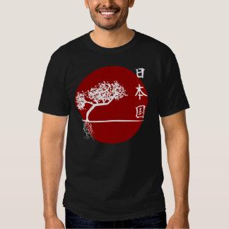 Bonsais japoneses camisetas