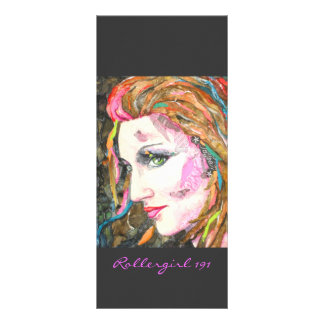 Bookmarker de PMACarlson Rollergirl 191 Tarjetas Publicitarias Personalizadas