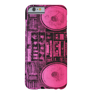 Boombox rosado funda de iPhone 6 barely there