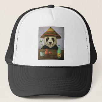 Boozer 4 con la panda gorra de camionero