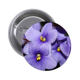 Boquet violeta chapa redonda de 5 cm