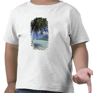 Bora Bora, Polinesia francesa Mt. Otemanu visto Camisetas