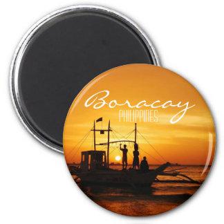 Boracay, Filipinas Imán Redondo 5 Cm