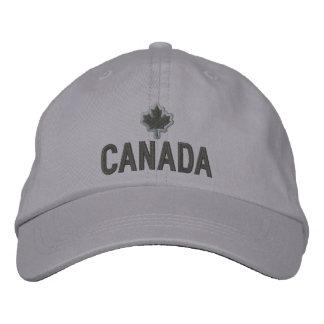 Bordado canadiense Canadá de la hoja de arce Gorras De Béisbol Bordadas
