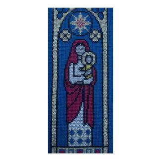 Bordado cristiano diseños de tarjetas publicitarias