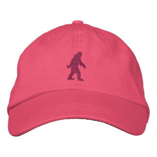 Bordado de Sasquatch Bigfoot Gorra Bordada