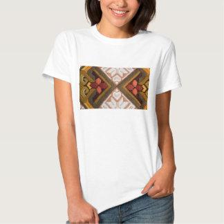 Bordado del vintage camisetas