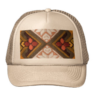 Bordado del vintage gorras de camionero