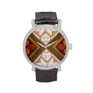 Bordado del vintage relojes