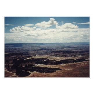 Borde blanco Canyonlands Utah