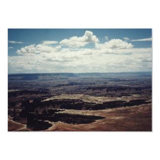 Borde blanco, Canyonlands, Utah Invitación 12,7 X 17,8 Cm