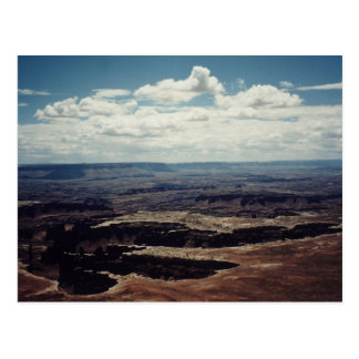 Borde blanco, Canyonlands, Utah Postal