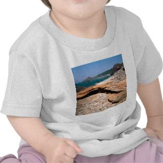 Borde del camino de la nutria de la erosión de la  camisetas