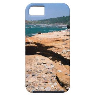 Borde del camino de la nutria de la erosión de la  iPhone 5 Case-Mate carcasas