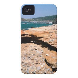 Borde del camino de la nutria de la erosión de la  iPhone 4 protectores
