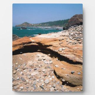 Borde del camino de la nutria de la erosión de la placa para mostrar